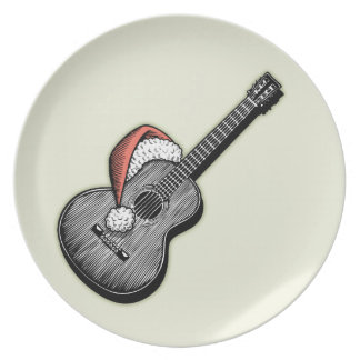 Acoustic Claus Dinner Plate