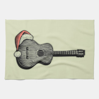 Acoustic Claus Kitchen Towel