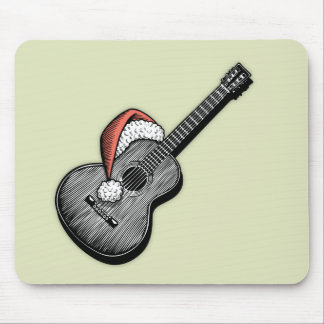 Acoustic Claus Mouse Pad
