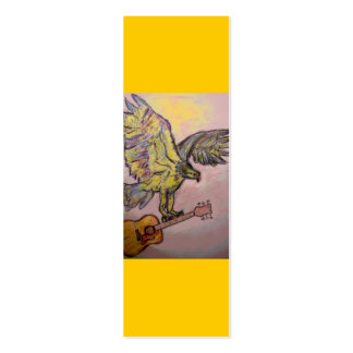 Acoustic Fish Hawk Mini Business Card