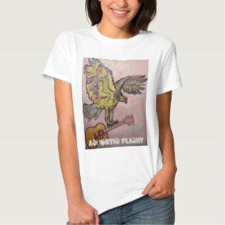 Acoustic Flight fish hawk T Shirts