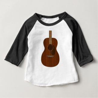 Acoustic Guitar Art Baby T-Shirt