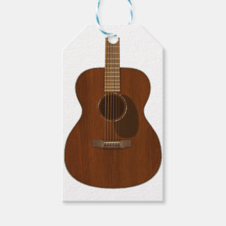 Acoustic Guitar Art Gift Tags