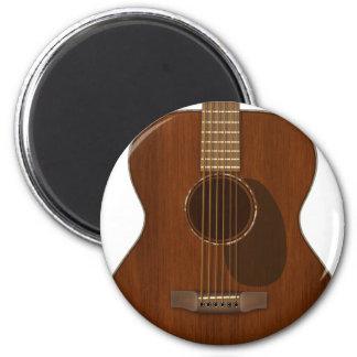 Acoustic Guitar Art Magnet