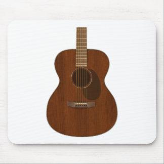 Acoustic Guitar Art Mouse Pad