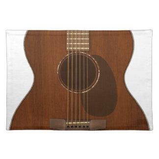 Acoustic Guitar Art Placemat