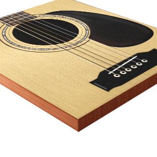 Acoustic Guitar Canvas Print