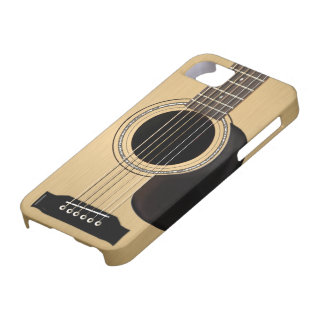 Acoustic Guitar Case For The iPhone 5
