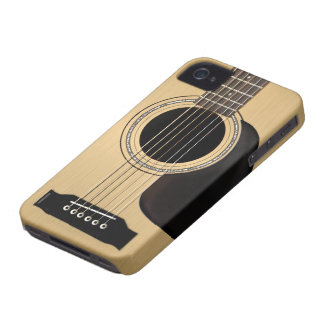 Acoustic Guitar Case-Mate iPhone 4 Case
