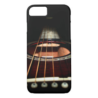 Acoustic Guitar Close-Up iPhone 7 Barely iPhone 7 Case
