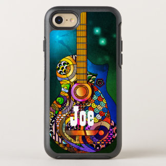 Acoustic Guitar Hippie OtterBox Apple iPhone OtterBox Symmetry iPhone 7 Case