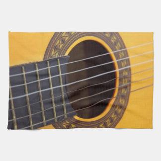 Acoustic Guitar Kitchen Towel