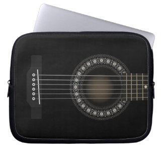 Acoustic Guitar Laptop Sleeve