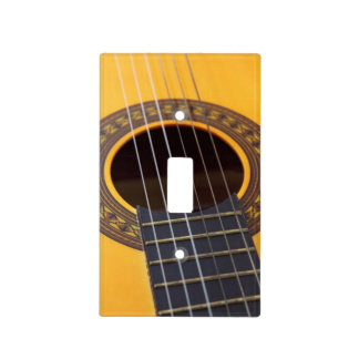 Acoustic Guitar Light Switch Cover
