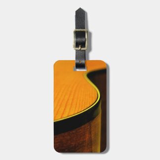 Acoustic Guitar Luggage Tag 2