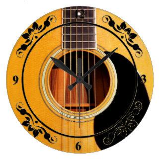 Guitar Clocks High Quality Guitar Wall Clocks Of High Quality