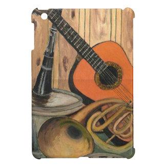 Acoustic Guitar Music-themed Art Painting iPad Mini Case