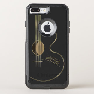 Acoustic Guitar Musician OtterBox Commuter iPhone 7 Plus Case