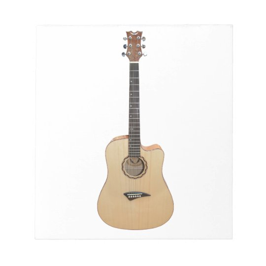 Acoustic Guitar Notepad