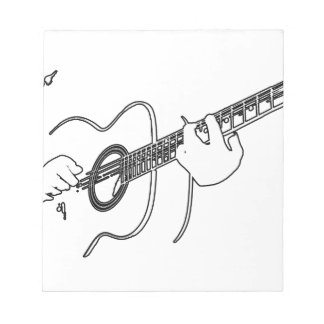 acoustic guitar notepads