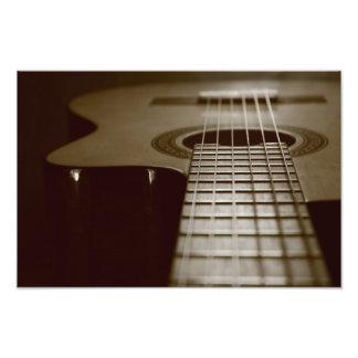 Acoustic Guitar Photo Art