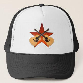 ACOUSTIC GUITAR STAR TRUCKER HAT
