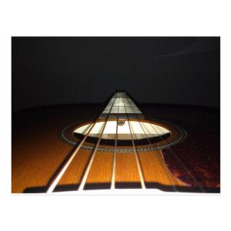 Acoustic Guitar Strings Postcard