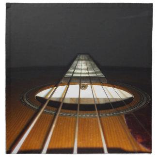 Acoustic Guitar Strings Printed Napkins