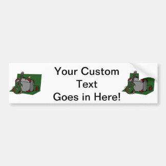 acoustic guitar suitcase green.png car bumper sticker
