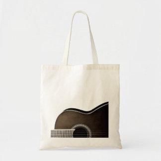 Acoustic Guitar Tote Bag