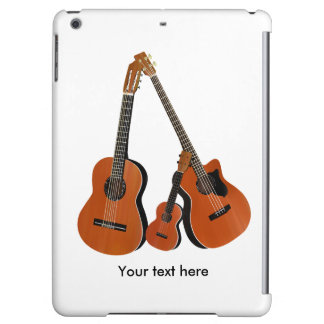 Acoustic Guitar Ukulele and Acoustic Bass Case For iPad Air