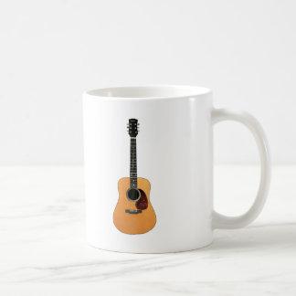 Acoustic Guitar vertical Coffee Mug