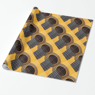 Acoustic Guitar Wrapping Paper