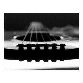 Acoustic Guitars Postcard