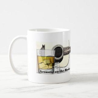 """Acoustic on the Rocks"" Coffee Mug Basic"