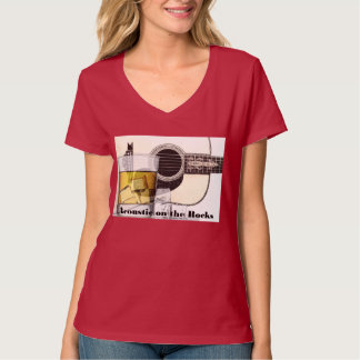"""""""Acoustic on the Rocks""""-Go Red Tee"""