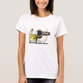 """""""Acoustic on the Rocks"""" t-shirt various styles"""