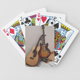 Acoustic or Electric Bicycle Playing Cards