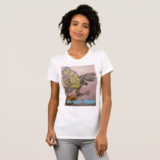 Acoustic Wings Fish Hawk T-Shirt