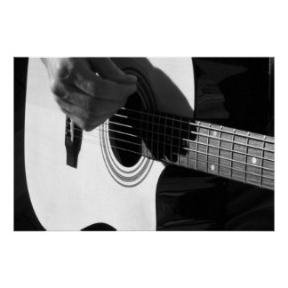 Acoustical Guitar Poster