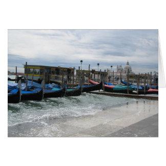 Acqua Alta in Venice Card