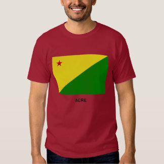 Acre, Brazil Flag Tee Shirt