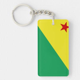 Acre flag Brazil region province symbol Keychain