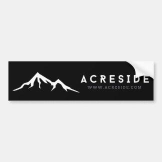 Acreside Bumper Sticker in Black