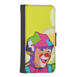 acrobat beautiful iPhone SE/5/5s wallet case