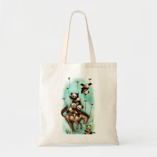 Acrobatic Rodeo Tote Bag