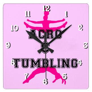 acrobatics and tumbling clock