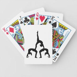 Acrobatics Bicycle Playing Cards