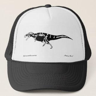 Acrocanthosaurus dinosaur hat Gregory Paul
