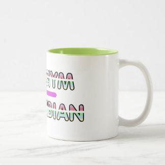 Acronym Amphibian (Sharp Edge) Mug